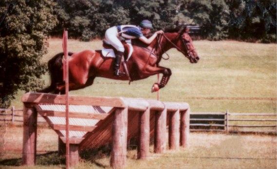 Helen jumping Easy Street