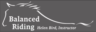 Balanced Riding Logo, Helen Bird Instructor